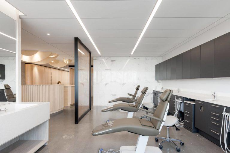 Diseño de una clínica dental premiada por los pacientes